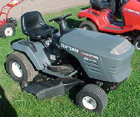 "Craftsman 17hp-42"" - 1999"