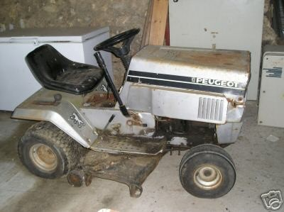 Peugot lawn tractor