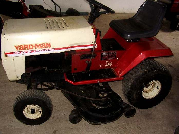 Yard-Man 14hp-46""